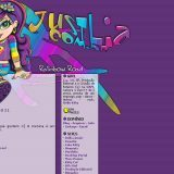 (No ar em 21/04/03) Comentários: Eu estava mexendo com umas imagens em 3D e colocando efeitos coloridos.. Então encontrei o site da Lisa Frank e fiquei apaixonada pelas cores… É isso, a imagem deu toda a graça, o 3D acabou sumindo e virando um borrão de tinta.. E o nome do site ficou engraçadinho =]