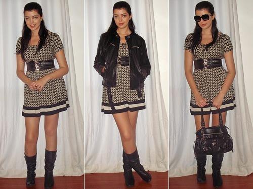 4daf8693e Look do dia  Vestido com bota - Just Lia