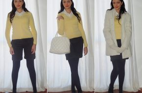 Look do dia: Suéter amarelo