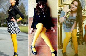 Como usar: Meia-calça colorida, branca, estampada e rendada