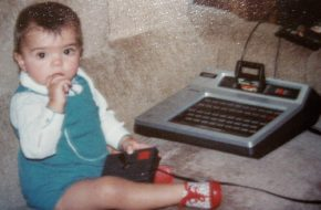Meninas e videogame na época