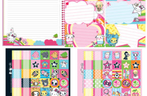 Itens de papelaria Tokidoki For Hello Kitty 2010