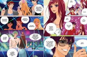 Primeiras páginas do mangá Gossip Girl