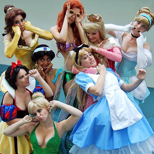 Careta Das Princesas Disney