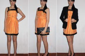 Look do dia: Vestido laranja
