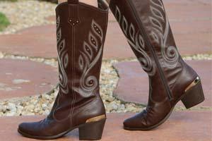 Como Usar  Bota de Cowboy - Just Lia  22aa5e0141a