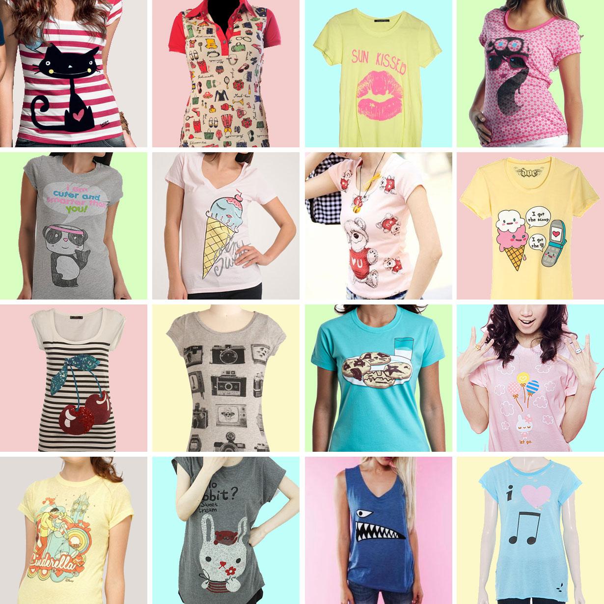 Overdose: T-shirts fofas