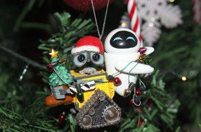 Enfeites de Natal da Disney