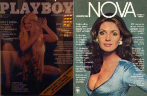 A primeira capa das revistas