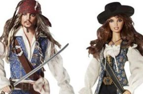 Barbie e Ken de Piratas do Caribe