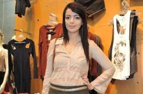 Pop Up Store Inverno 2011 e Look do dia: Camisa com renda