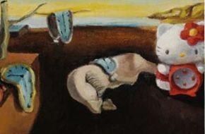 Pinturas famosas com a Hello Kitty