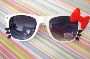 Desejo do dia: Óculos da Hello Kitty