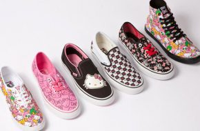 Tênis Vans da Hello Kitty