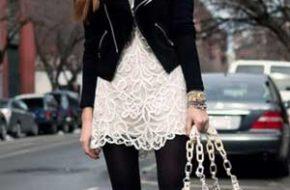 Como Usar: Vestido branco no inverno