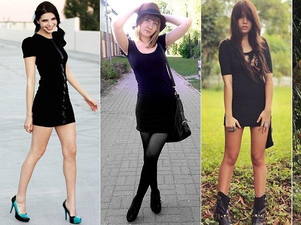 fbea97e78 Como Usar  Vestido Preto Básico - Just Lia