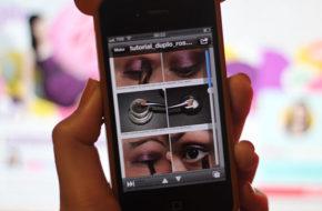 Inspiração de moda e tutoriais de maquiagem no iPhone