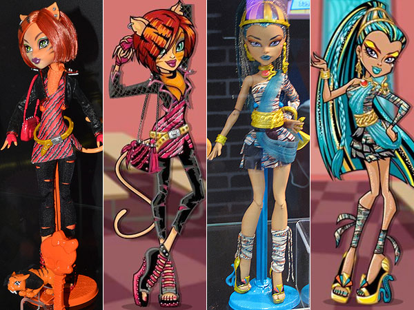 Monster High Toralei Nefera