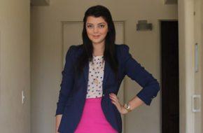 Look do dia: Pink e azul