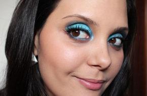 Make passo-a-passo: Sombra azul
