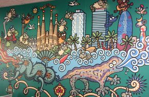 Barcelona – Albergue, Rambla de Mar, Porto Vell – Dia 1