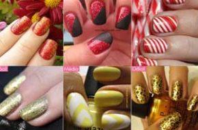 Inspiração de unhas para o Ano Novo