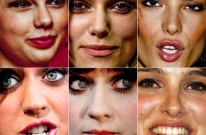 Os defeitinhos das celebridades
