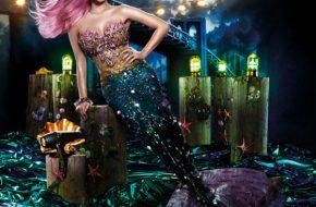 Katy Perry como sereia pra GHD