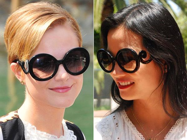 16c0eedbe72ea Olá, queridas e lindas leitoras, como vão todas vocês (sem exceção)   Vejamos issaê de óculos escuros… Não sabia que esse estilo se chamava  BAROQUE, ...