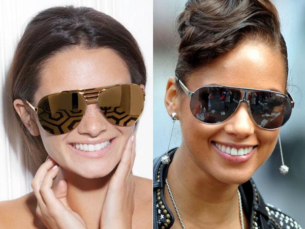 """7b6ea36cf4a46 Acho sexy quando a garota usa óculos """"aviador"""" e combina com rosto etc. Já  esse CHUNKY AVIATOR não me parece nada próximo de qualquer coisa passível  de ser ..."""