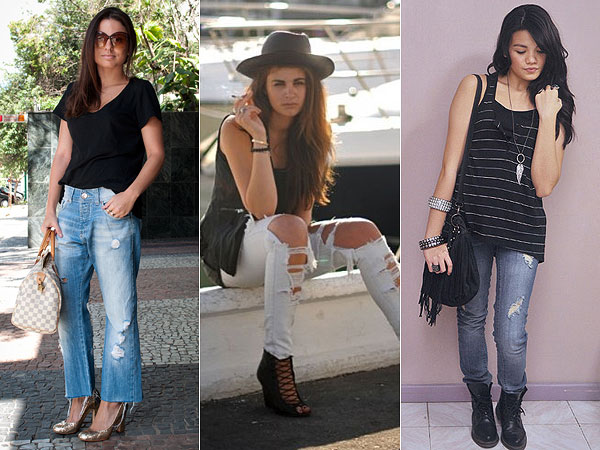Como Usar: Calça Jeans Rasgada