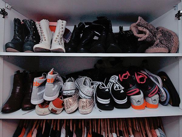 8a3a64c63 Estante de livros pra guardar sapatos - Just Lia | Por Lia Camargo