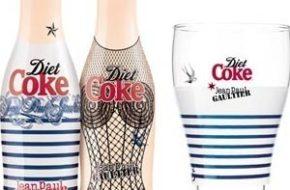 As garrafas de Diet Coke de Jean Paul Gaultier