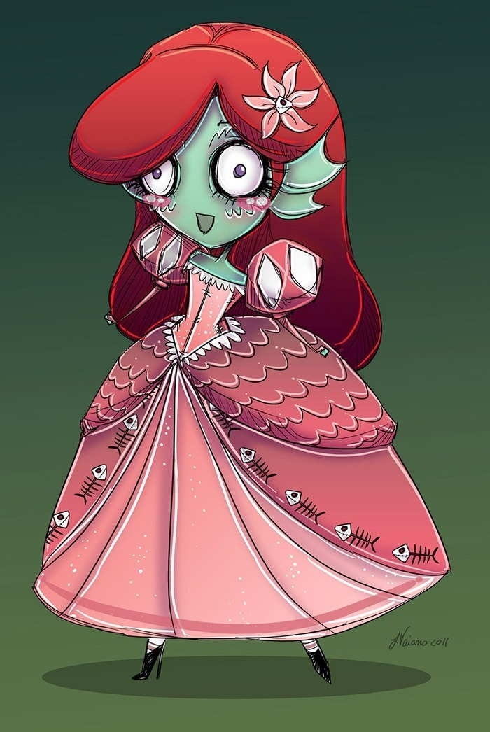 little_mermaid_from_the_black_lagoon_by_noflutter-d4gcwmt