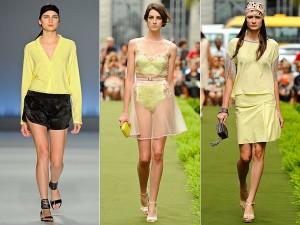 Tendência para o verão/2013: Amarelo