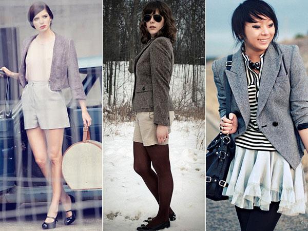 Como Usar: Casacos de Tweed