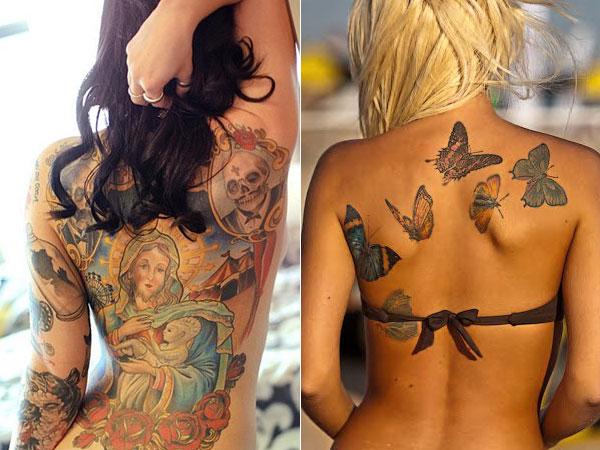 100 Fotos de Tatuagens femininas com frases