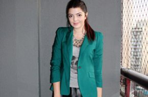 Look do dia: Blazer verde
