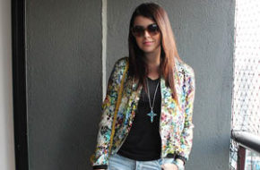 Look do dia: Jaqueta floral