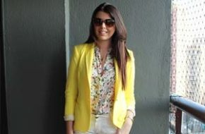 Look do dia: Blazer amarelo