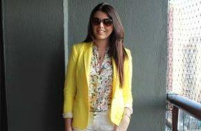 Look do dia: Blazer amarelo