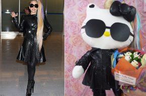 Fãs da Lady Gaga e da Hello Kitty em Tóquio