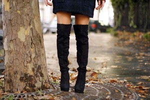 Como Usar: Over the Knee Boot (Bota Acima do Joelho)
