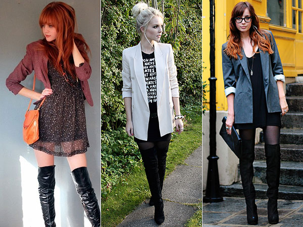 Como Usar: Over the Knee Boots (Botas Acima do Joelho)