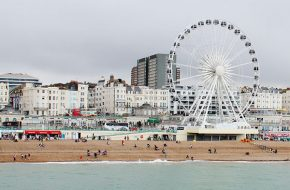 Londres – Rock Of Ages, Brighton – Praia, pier e Royal Pavilion
