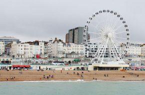 Londres – Rock Of Ages, Brighton – Praia, pier e Royal Pavilion