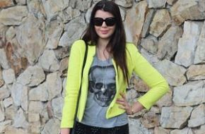 Look do dia: Jaqueta neon