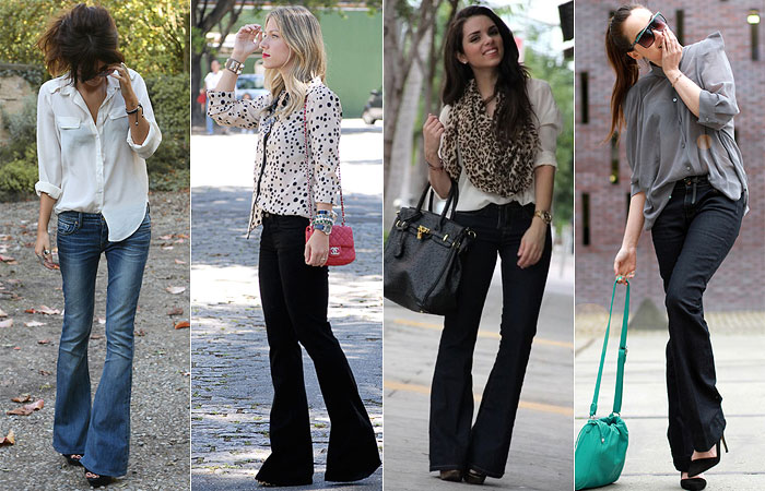 Como Usar: Calça Flare Jeans (Boca-de-Sino)