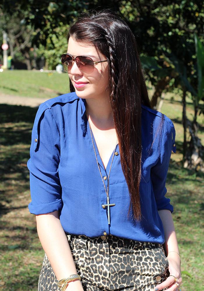 Look do dia  Azul e onça (e um papo sobre vida real) - Just Lia ... 298b1d18b7