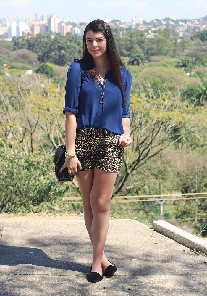 6612597657 Look do dia  Azul e onça (e um papo sobre vida real) - Just Lia ...